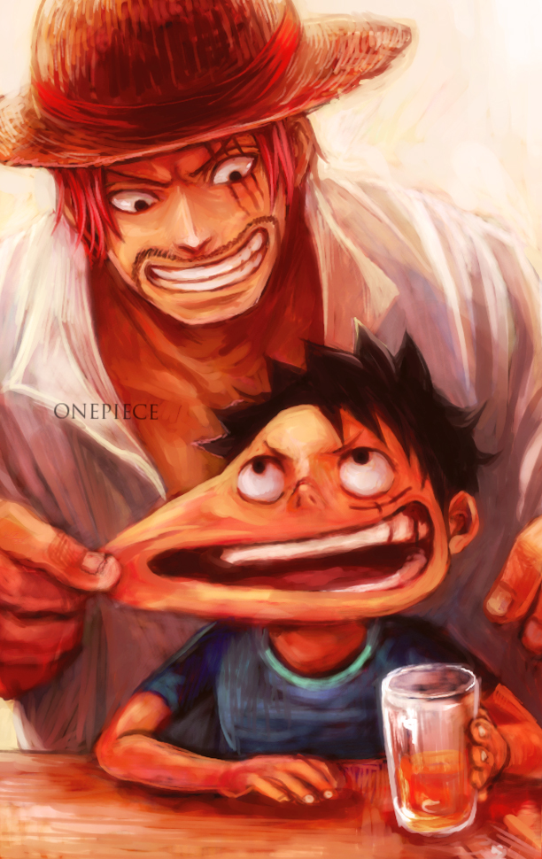 one piece rencontre ace et shanks