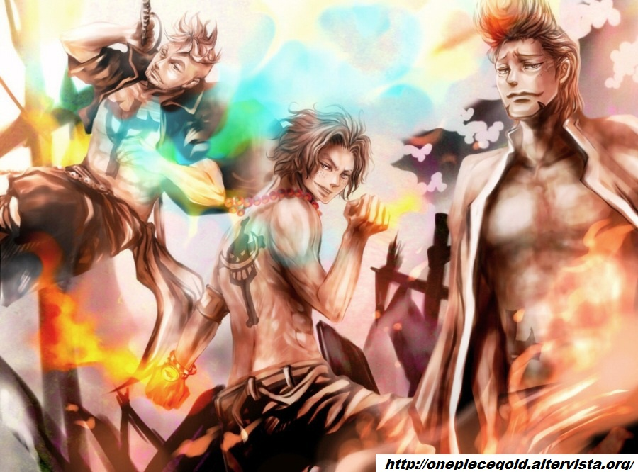 Portgas D. Ace and Marco #one piece #whitebeard | One Piece ...
