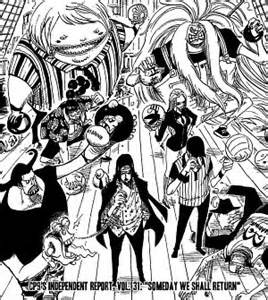 THE RETURN OF CP9 | ONE PIECE GOLD