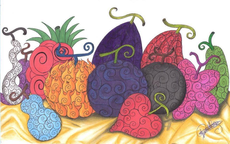devil fruit is an olive a fruit