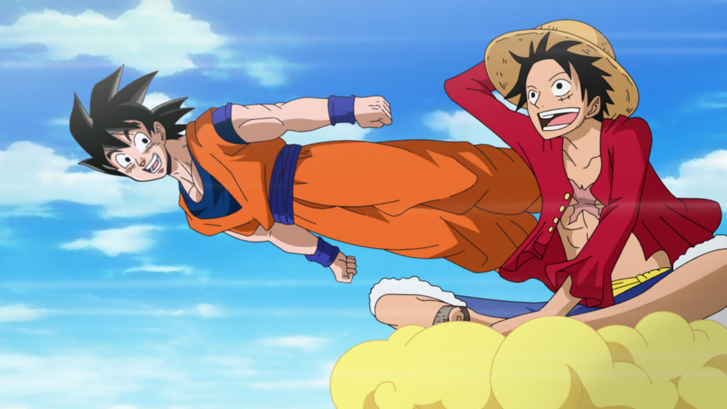goku_and_luffy_by_elordy-d7kjnht
