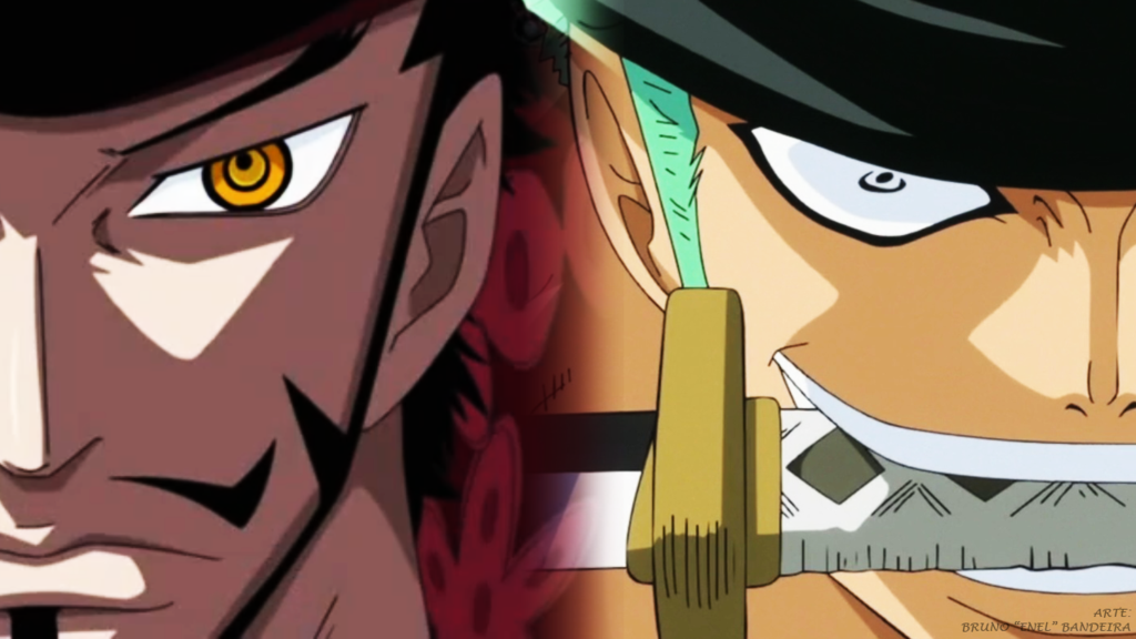 one_piece_wallpaper_1280x720___mihawk_vs_zoro_by_tripulacaoonepiece-d5n2oun