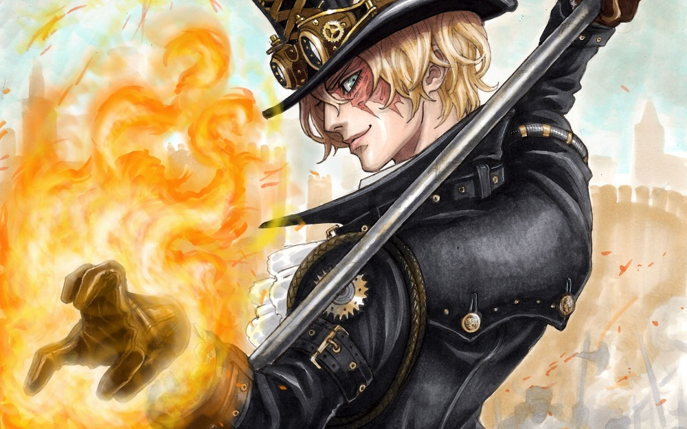 Sabo One Piece anime wallpaper hd