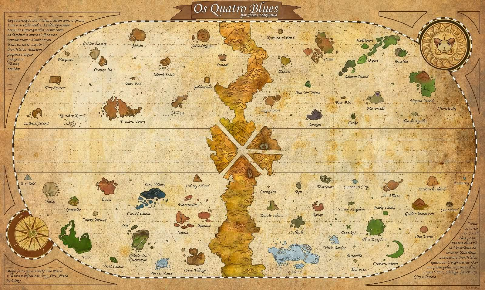 THE RAFTEL MAP | ONE PIECE GOLD
